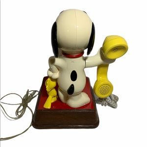 Other - Vintage The Snoopy and Woodstock Phone